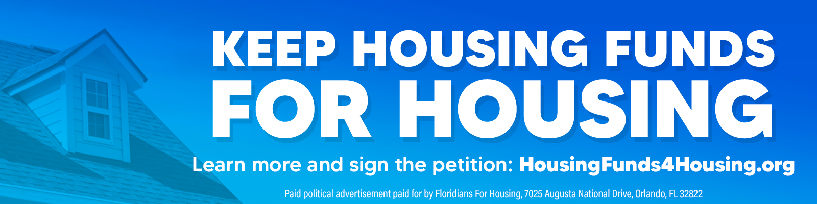 Keep Housing Funds for Housing